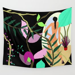 Floral and Fauna Wall Tapestry