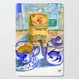 Jasmine Tea Cutting Board
