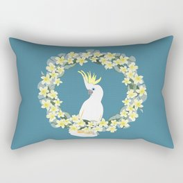 Sulphur Crested Cockatoo Rectangular Pillow