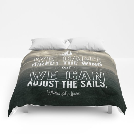 Adjust the sails Comforters