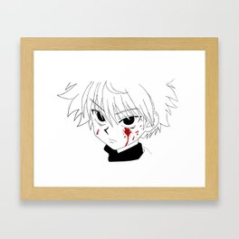 Killua HunterXHunter Framed Art Print