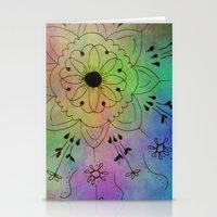 zentangle Stationery Cards featuring Zentangle by Anne Seltmann