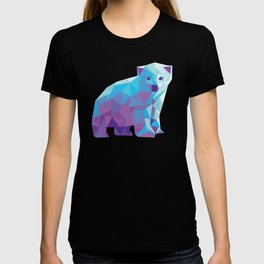 Geometric Polar Bear T-shirt