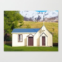 Cardrona Schoolhouse Canvas Print