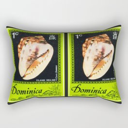 Flame Helmet Rectangular Pillow
