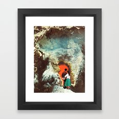 ENTRANCE Framed Art Print