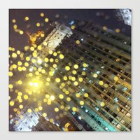 moscow Canvas Prints featuring moscow by xp4nder