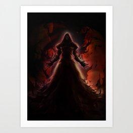 Death wrath Art Print