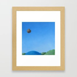 seeing the end Framed Art Print
