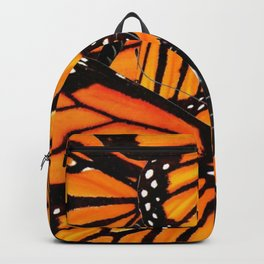 MONARCH BUTTERFLIES WING COLLAGE PATTERN 2 Backpack