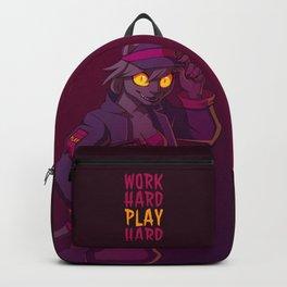 Work Hard, Play Hard Backpack