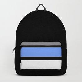 Team Colors 2...Light blue , gray Backpack