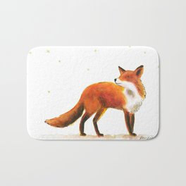 Fox & stars Bath Mat