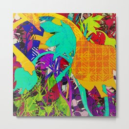 Tropical Tack Metal Print