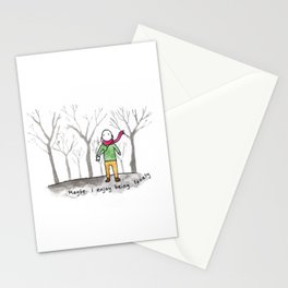 little prince in brooklyn Stationery Cards