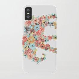 Flower Elephant iPhone Case