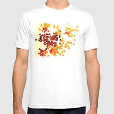Paetê 1 White MEDIUM Mens Fitted Tee