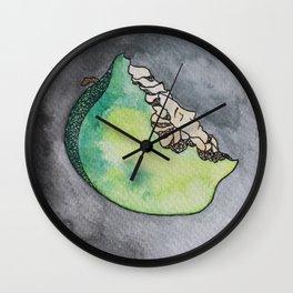 Pomme verte Wall Clock