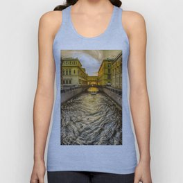 Swan Canal in St. Petersburg Unisex Tank Top
