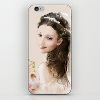 bride iPhone & iPod Skins featuring bride by tatiana-teni