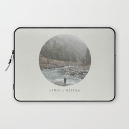 nature is waiting Laptop Sleeve