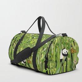 Pandas Bamboo Forest Duffle Bag