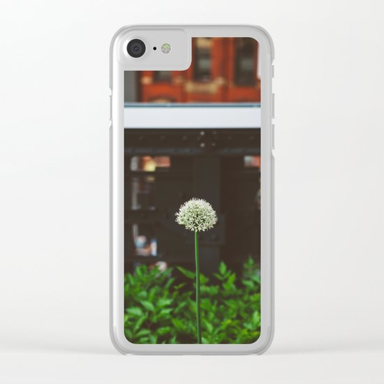 New York Garden Clear iPhone Case