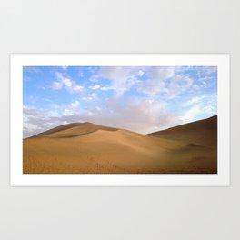 desert photography Art Print
