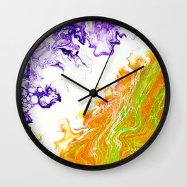 Storm of Life Wall Clock