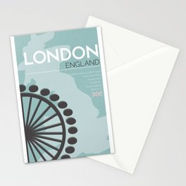 London Poster Stationery Cards