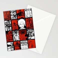 RED & WHITE - A nne Frankenstein Book I - Resurrection Stationery Cards