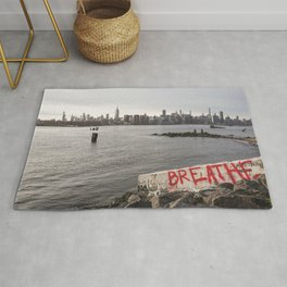 breathe and relax Rug