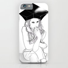 Sitting and Staring - Digital Illustration Slim Case iPhone 6s