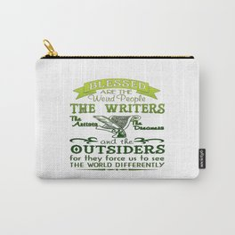Writers, Artists, Dreamers Carry-All Pouch