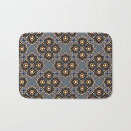 Beautiful Beadwork Inspired Print Bath Mat