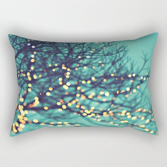 twinkle lights Rectangular Pillow