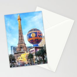 Paris Las Vegas Stationery Cards