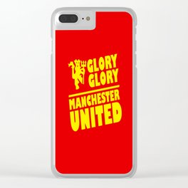 Slogan Reds Clear iPhone Case