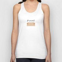 pivot Tank Tops featuring Pivot - Friends Tribute by The LOL Shop