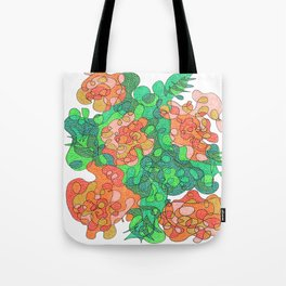 Abstract Floral #4 Tote Bag