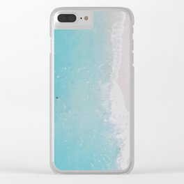 summer beach xiii Clear iPhone Case