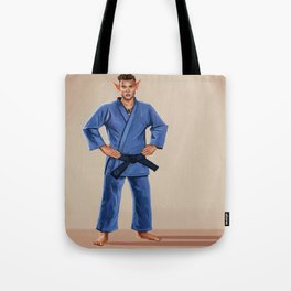 Karate Elf Tote Bag