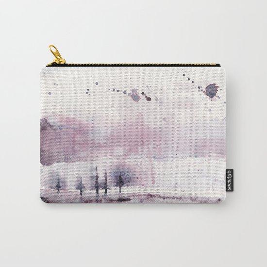 Purple rain Carry-All Pouch