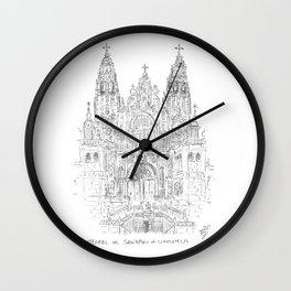 Cathedral of Santiago De Compostela Wall Clock