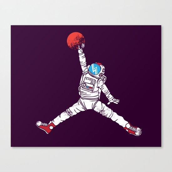 space dunk (purple ver.) Canvas Print