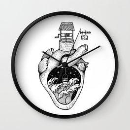 People's hearts are like deep wells Wall Clock