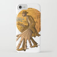 cowboy iPhone & iPod Cases featuring cowboy by Markmonk