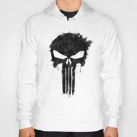 punisher Hoodies featuring Punisher Black by d.bjorn