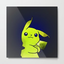 Pika - Watercolor Metal Print