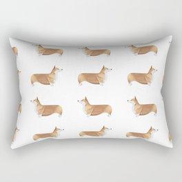 Corgi Pattern Rectangular Pillow